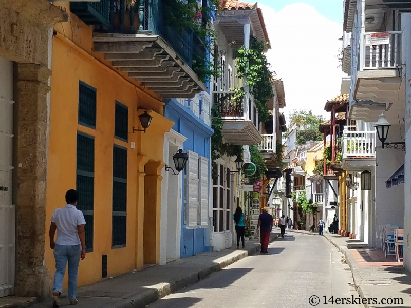 Colorful Cartagena - Old Town