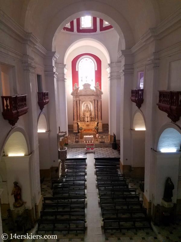 Church of San Pedro in Cartagena.