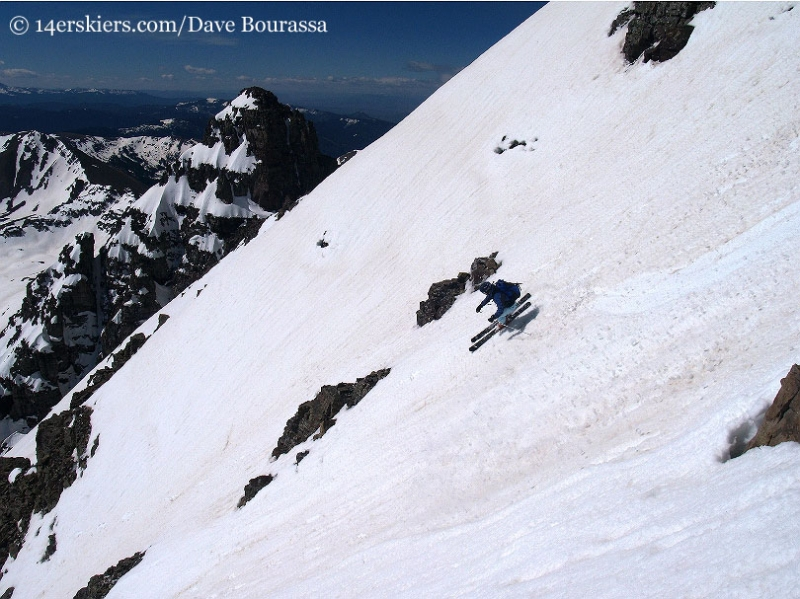 Brittany Walker Konsella skiing Castle