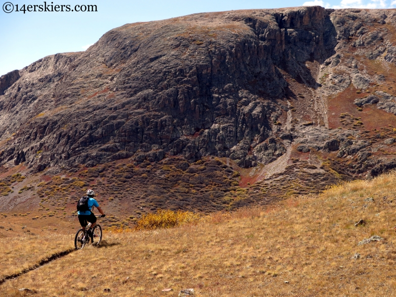 mountain biking cataract ridge