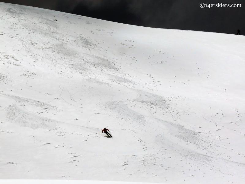 Independence Pass skiing