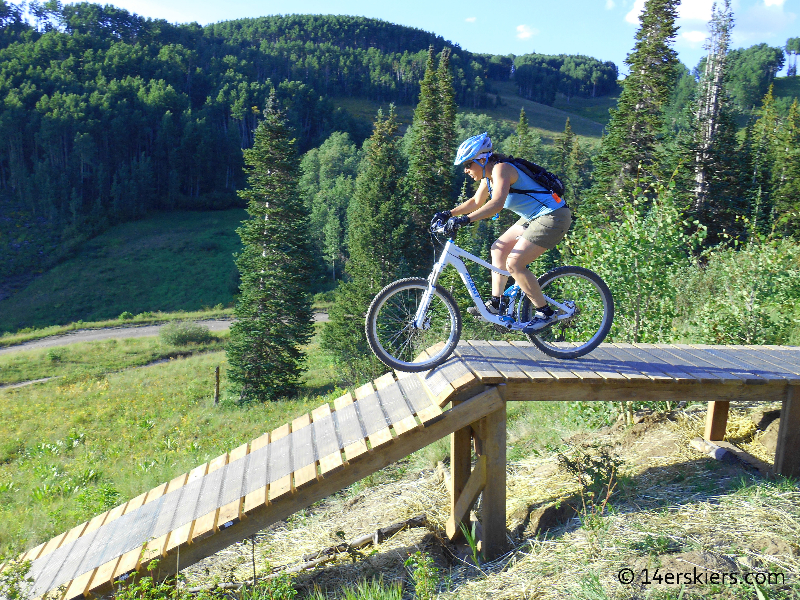 Timetable downhill trail at Crested Butte Mountain Resort