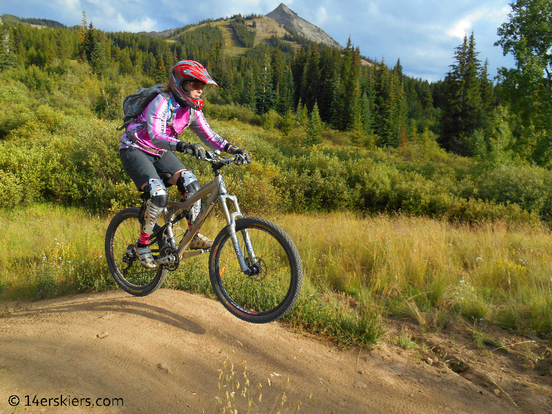 Timeline downhill trail at Crested Butte Mountain Resort