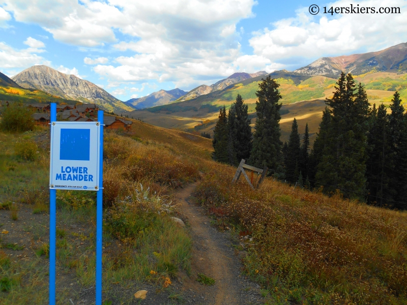 Lower Meander at Crested Butte Mountain Resort