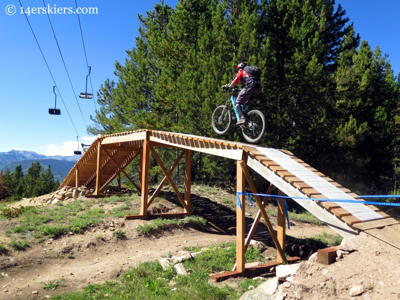 Bridge on Captain Jack's at Crested Butte Mountain Resort