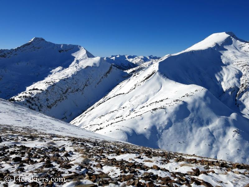 Yule Pass in winter
