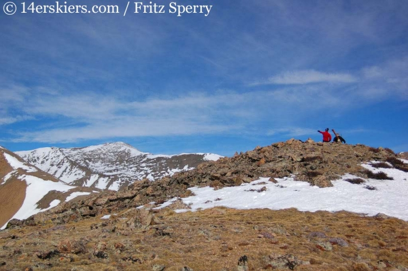 Mount Columbia ridge
