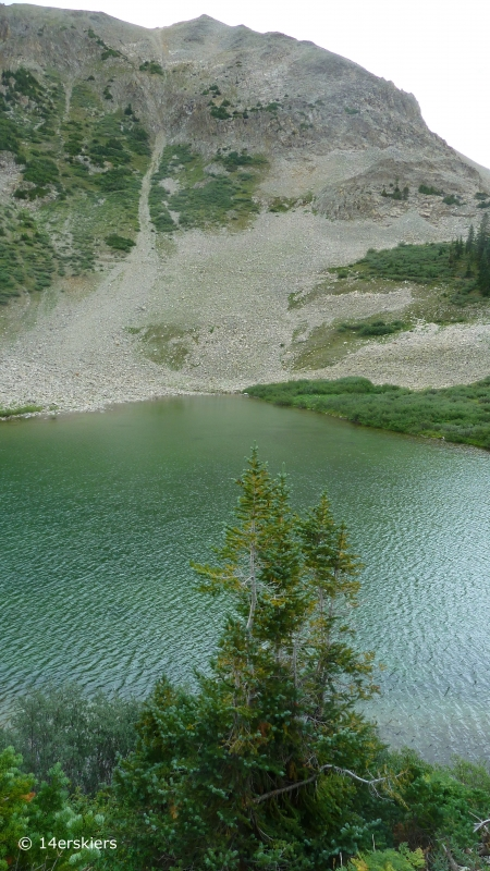 Hike to Copper Lake by East Maroon Pass, near Crested Butte