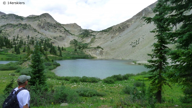 Copper Lake near Crested Butte.