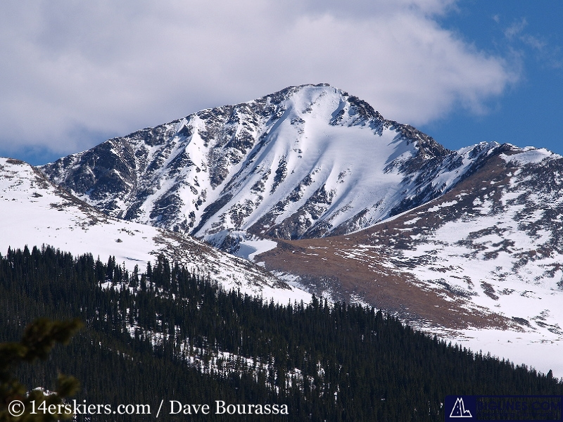 The North Face of Crystal Peak.