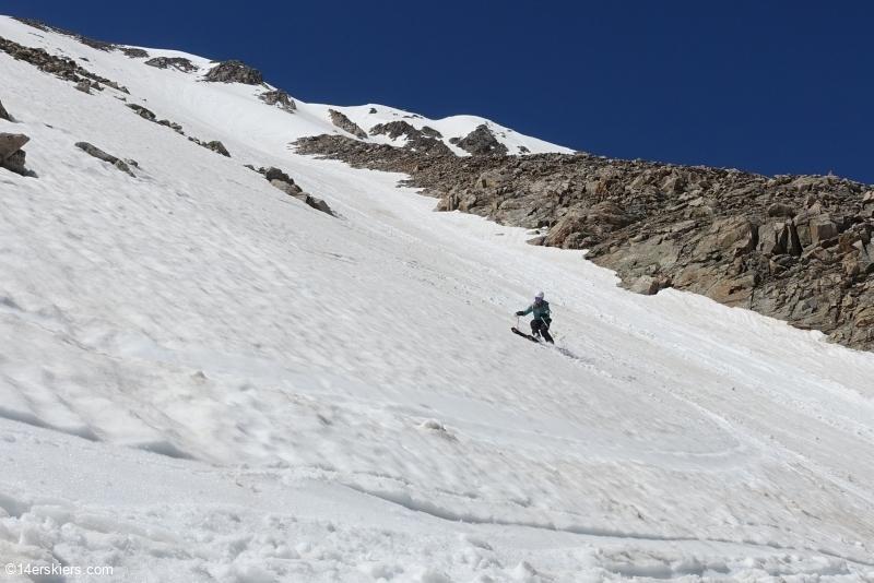 skiing 14ers