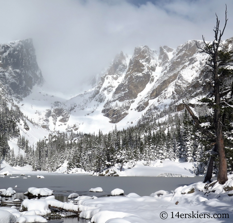 View of Taylor Gorge in Rocky Mountain National Park.