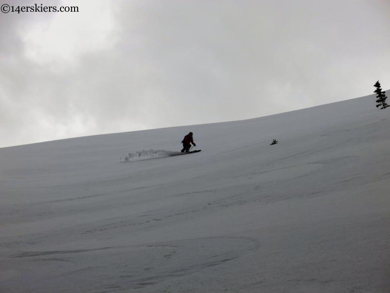 corn skiing dream stream telluride