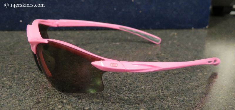 side view of Dual Eyewear G5 sunglasses