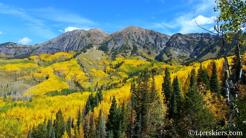 fall hiking in Crested Butte.