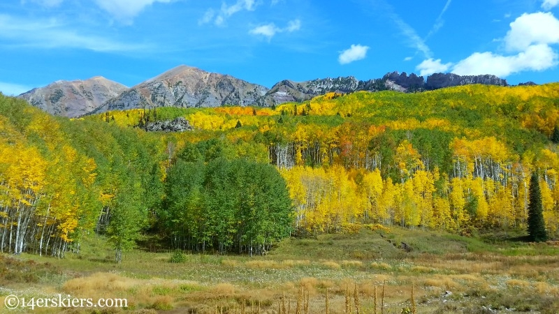 Views from the Dark Canyon Trail near Crested Butte