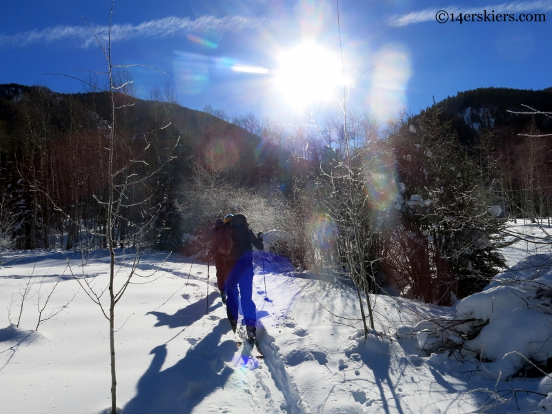cement creek backcountry skiing