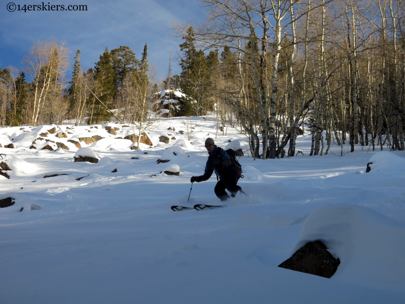skiing in cb south
