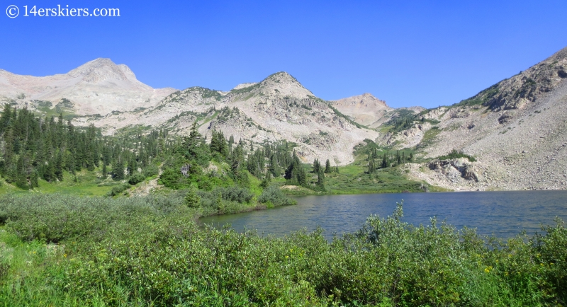 Hiking to Copper Lake near Crested Butte