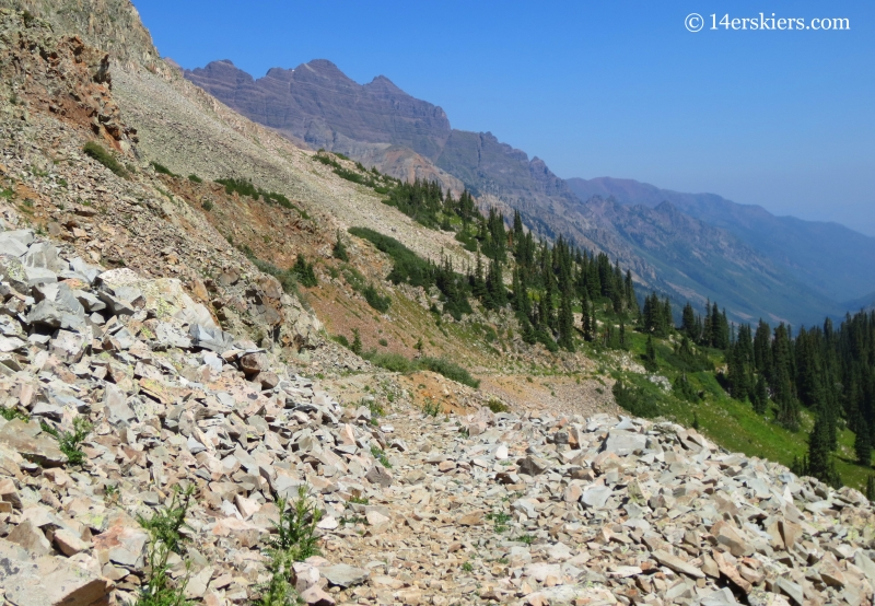 Hiking the East Maroon Pass Trail