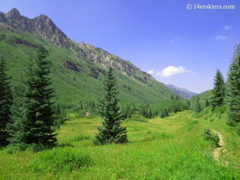 Hiking East Maroon Creek Trail