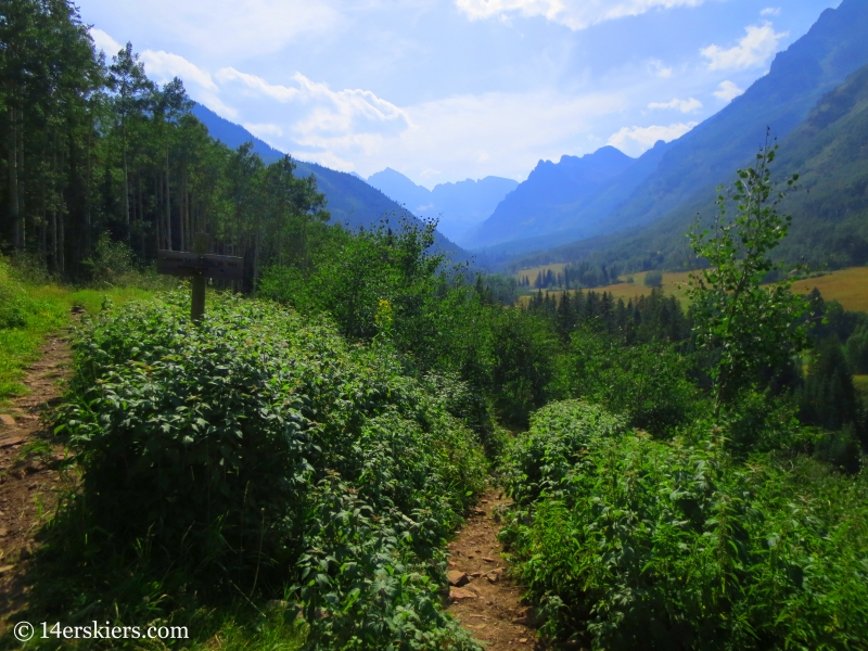 Hiking from Crested Butte to Aspen via East Maroon Pass