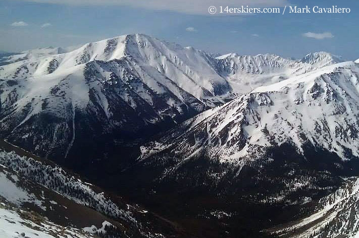 Northwest Gullies on Mount Elbert
