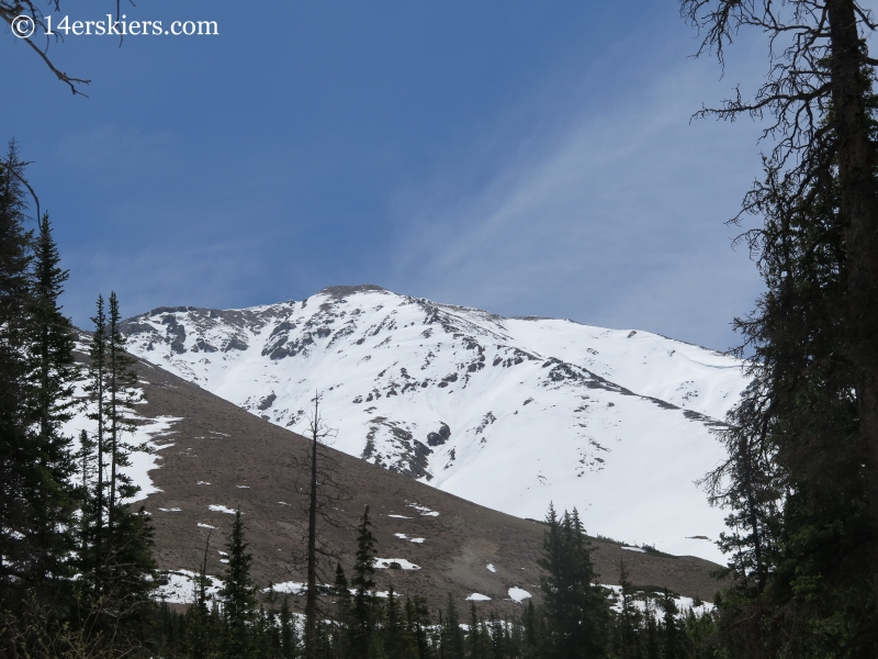 Mount Elbert Northwest Gullies.