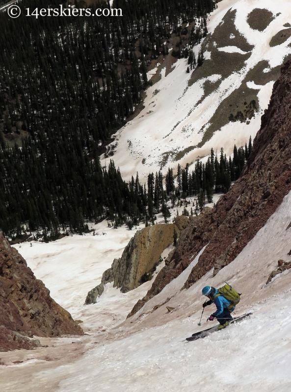 Brittany Konsella skiing El Natcho
