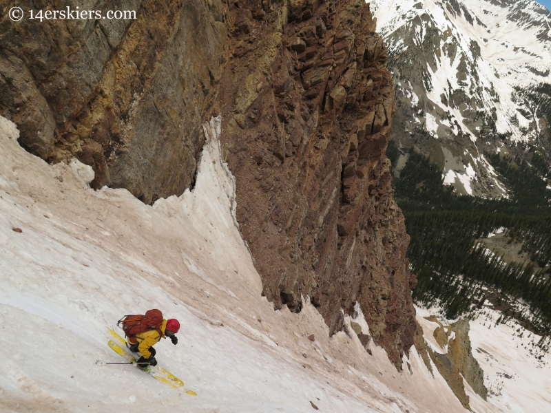 Ben McShan skiing El Natcho