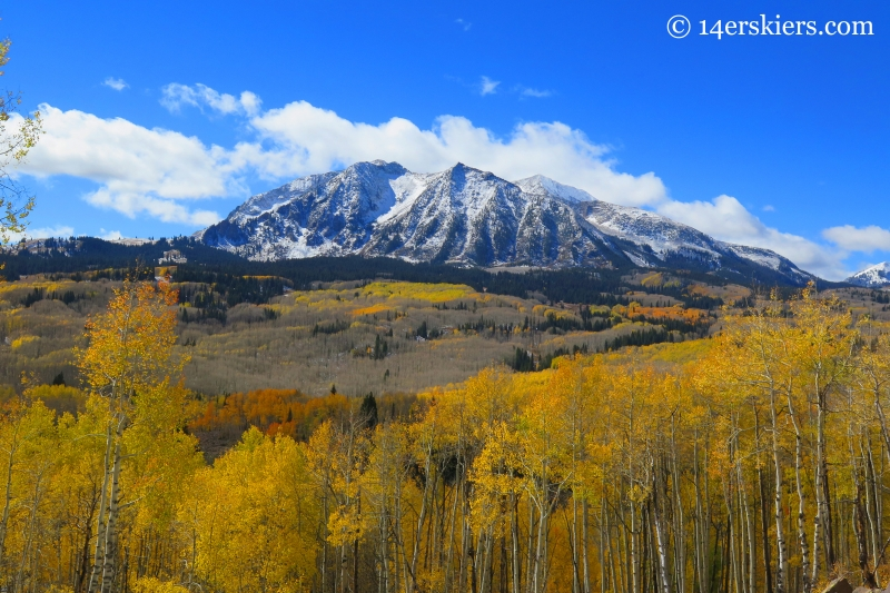 Beckwith in the fall near Crested Butte