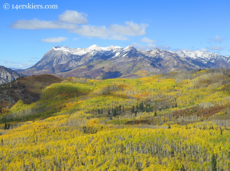 Raggeds in fall near Crested Butte