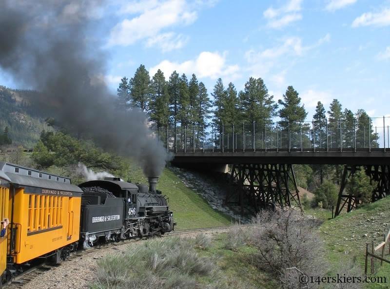 Durango to Silverton train