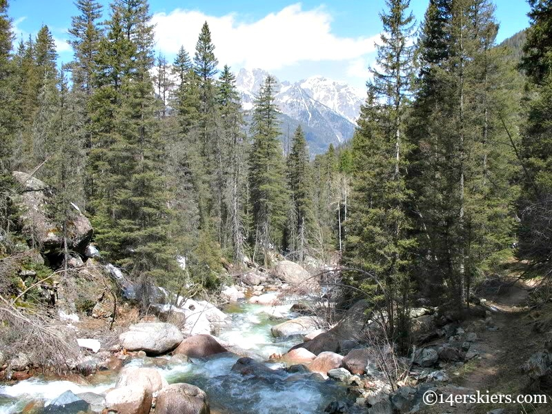 Scenes while backpacking to Chicago Basin.