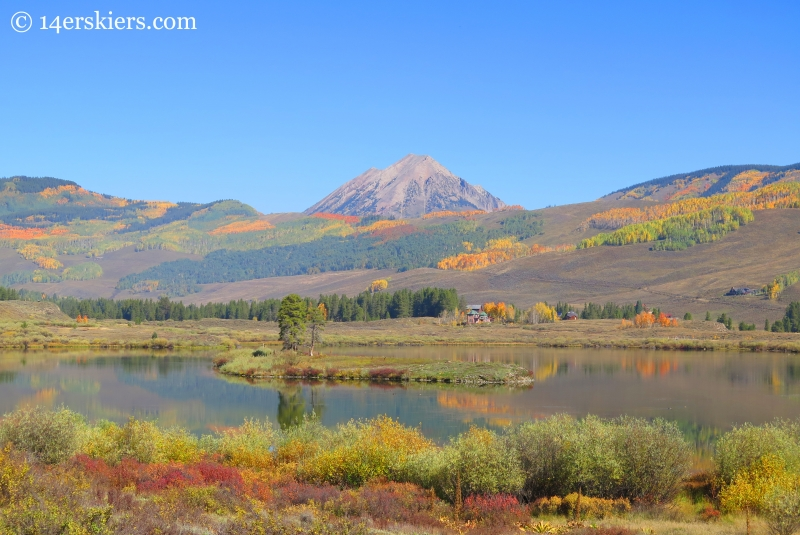 Peanut Lake in Crested Butte