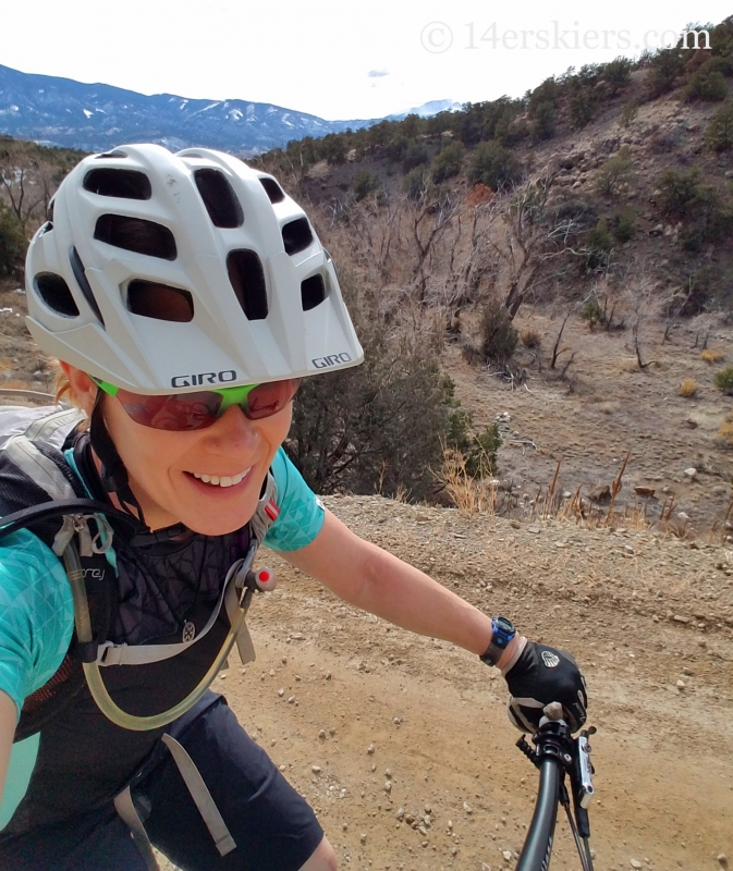 Mountain biking after ACL revision surgery.