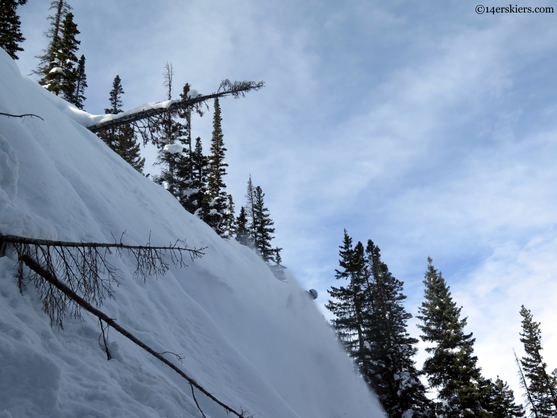 Steamboat pillow skiing