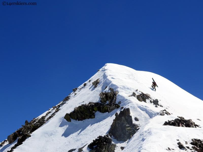 Summit of Fletcher Mountain