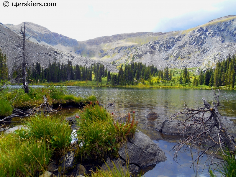 Lamphier Lake in the Fossil Ridge Wilderness