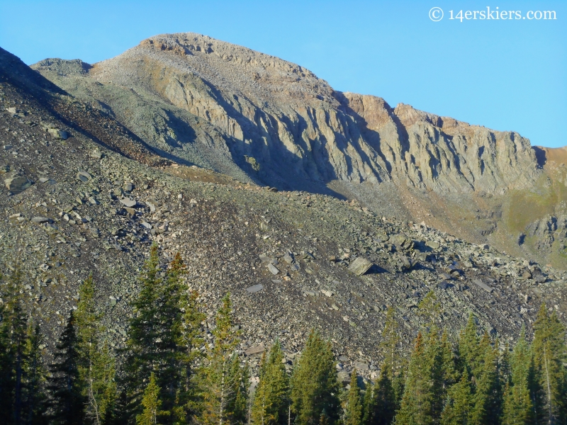 Fossil Mountain in Fossil Ridge Wilderness