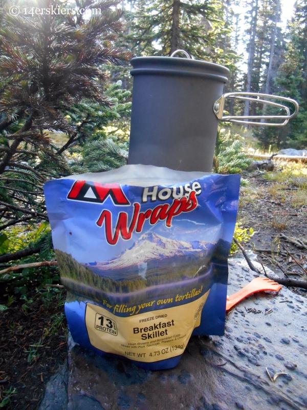 Mountain House Wraps Breakfast Skillet