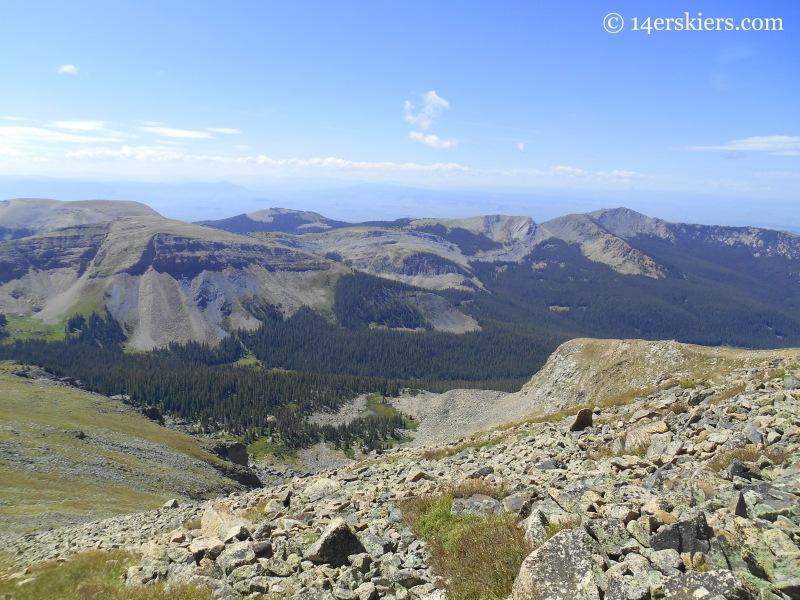 Fossil Ridge in Fossil Ridge Wilderness