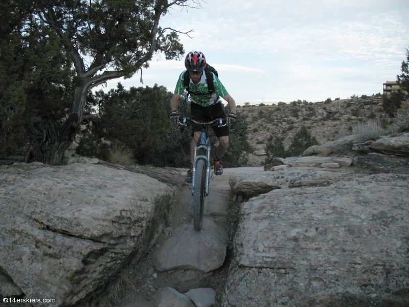 Mountain biking Lunch Loops in Grand Junction