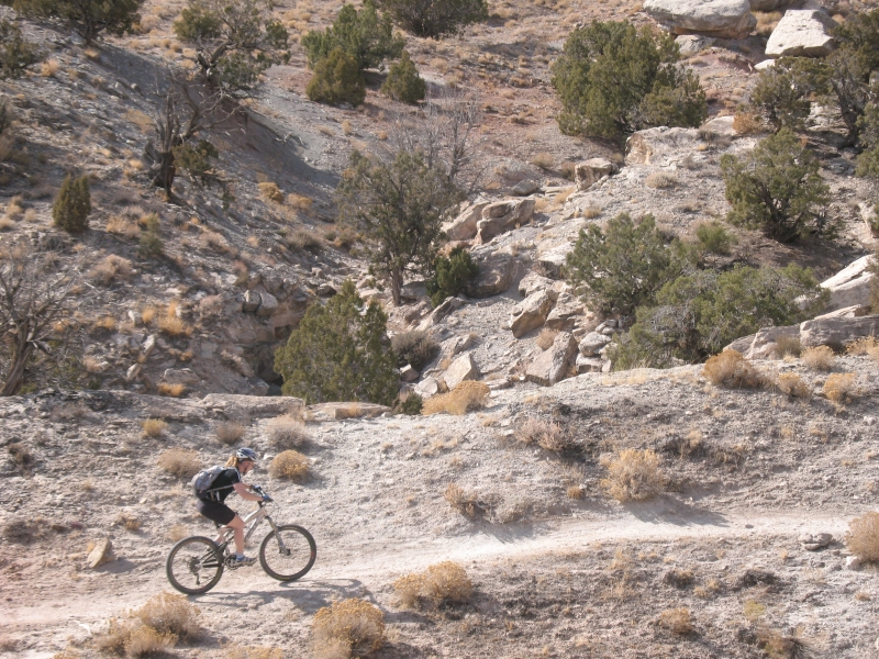Mountain Biking in Fruita, CO