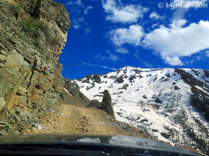 Driving Ophir Pass.