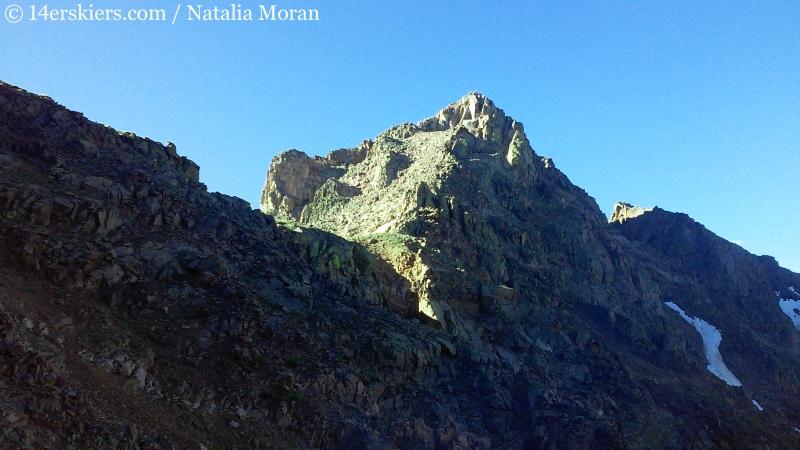 Climbing Snow Peak