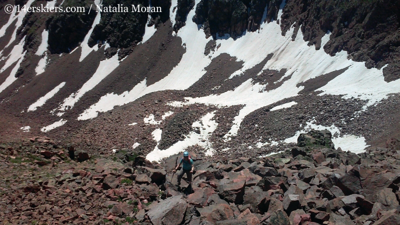 Climbing Mount Valhalla in the Gore Range