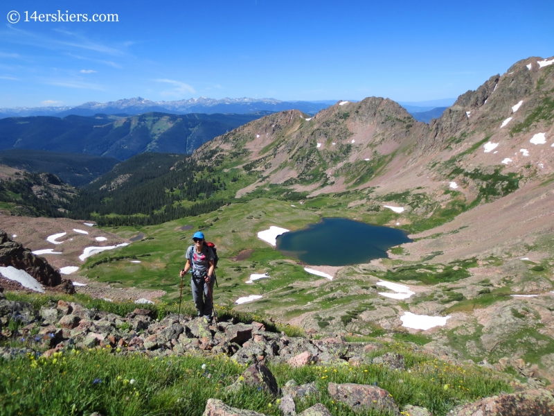 Climbing Mount Valhalla.