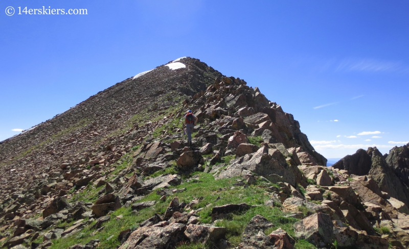 Climbing Grand Traverse Peak