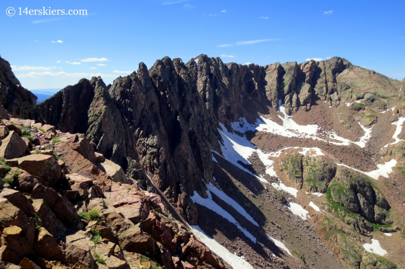 The Traverse on Grand Traverse Peak.